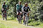 19.07.2011, Bad Kleinkirchheim, AUT, Fussball Trainingscamp VFL Wolfsburg, im Bild Michael Schulze und Patrick Helmes , EXPA Pictures © 2011, PhotoCredit: EXPA/Oskar Hoeher