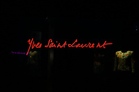 LE MUSEE YVES SAINT LAURENT EXPOSE L'OEUVRE DU COUTURIER, PARIS, FRANCE, LE 11/10/2017.