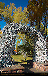 Antler Arch, Town Square, Jackson Hole, Wyoming