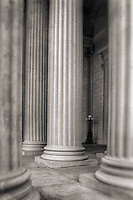 Columns National Archives Washington DC Architecture Black and White Photography Washington DC Art - - Framed Prints - Wall Murals - Metal Prints - Aluminum Prints - Canvas Prints - Fine Art Prints Washington DC Landmarks Monuments Architecture