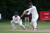 T Oakley in batting action for Brentwood during Wanstead and Snaresbrook CC (fielding) vs Brentwood CC, Hamro Foundation Essex League Cricket at Overton Drive on 19th June 2021