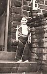 © unknown, supplied via Joel Goodman - 07973 332324 . 12/08/2016 . Wrexham , UK . SMALL PHOTO - ONLY USE SMALL . Collect photo of writer ERWIN JAMES aged six . Photo credit : Joel Goodman