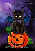 GIORDANO, CUTE ANIMALS, LUSTIGE TIERE, ANIMALITOS DIVERTIDOS, halloween, paintings+++++,USGI2935,#ac#, EVERYDAY