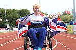 IPC European Athletics Championship 2014<br /> Joanna Butterfield GBR<br /> Women's Club Throw F32/51<br /> Swansea University<br /> <br /> 21.08.14<br /> ©Steve Pope-SPORTINGWALES