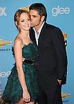 Jayma Mays & John Stamos. at Fox's Premiere Screening & Party for Glee held at Paramount Studios in Hollywood, California on September 07,2010                                                                   Copyright 2010  Hollywood Press Agency