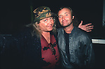 SAM KINISON & Phil Collins of Genesis at The Comedy Store