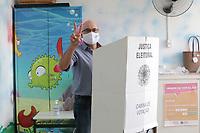 Campinas (SP), 15/11/2020 - Eleições-SP - O candidato a prefeitura de Campinas, interior de São Paulo, Dário Saadi (Republicanos), votou na manhã deste domingo (15) na Emei Cônego Manoel Garcia no Bonfim.