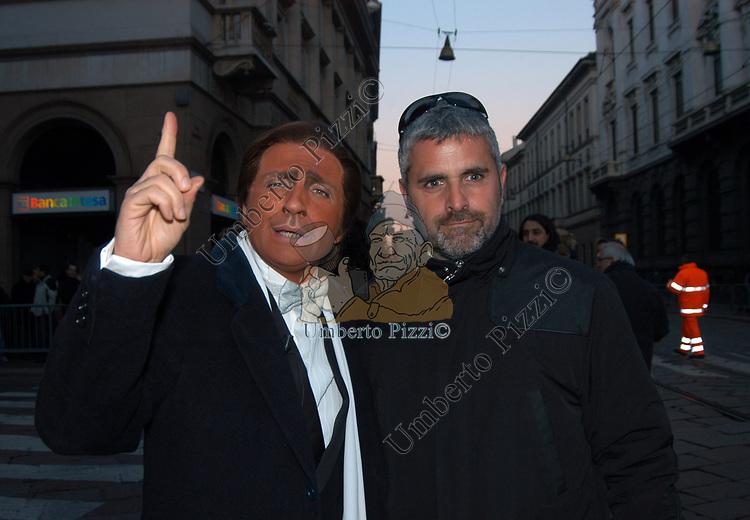 DARIO BALLANTINI CON ENRICO LUCCI