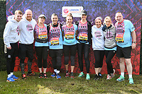 Team Barbara's Revolutionaries<br /> at the start of the London Marathon 2019, Greenwich, London<br /> <br /> ©Ash Knotek  D3496  28/04/2019