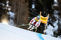 26th December 2020; Stelvio, Bormio, Italy; FIS World Cup Mens Downhill;   Vincent Kriechmayr of Austria during his 1st training run for the mens downhill race of FIS ski alpine world cup at the Stelvio
