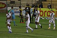 Novo Horizonte (SP), 20/05/2021 - Novorizontino-Ponte Preta - Edson Silva comemora gol do Novorizontino. Partida entre Novorizontino e Ponte Preta válida pela final do troféu do interior no estádio Jorge Ismael de Biasi em Novo Horizonte, nesta noite de quinta-feira (20).