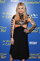 """Chloe Grace Moretz<br /> arriving for the premiere of """"The Miseducation of Cameron Post"""" screening at Picturehouse Central, London<br /> <br /> ©Ash Knotek  D3424  22/08/2018"""