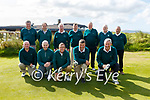 The Waterville GC Dr Billy O'Sullivan side who defeated the Ring Of Kerry GC 3½ to 1½ on Monday were front l-r; Adrian Cronin, Trever Devereux, Mike Flaherty, Dan Fitzpatrick, John Nolan, back l-r; Albert Prenderville, Patrick Fogarty, Jimmy Curran(Manager), John A.Casey, Jim Browne, John K.O'Shea & Patrick Fitzgerald.