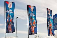 December 189 2014, Rotterdam, Topsport Centrum, Lotto NK Tennis, Flags<br /> Photo: Tennisimages/Henk Koster