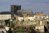 France/15/Cantal/St FLour: Ville haute et cathédrale