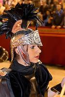 bei  der Karfreitagsprozession der Semana Santa (Karwoche) in Lorca,  Provinz Murcia, Spanien, Europa