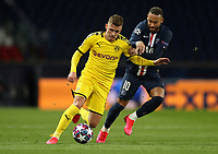 Paris St Germain's Neymar in action with Borussia Dortmund's Thorgan Hazard    <br /> Photo Pool/Panoramic/Insidefoto
