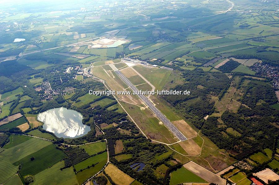 Deutschland, Schleswig- Holstein. Luebeck, Blankensee, Flugplatz, Luebeck- Blankensee, Verkehrslandeplatz, Verkehrsflughafen