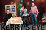 """Athea Drama Group: Members of Athea Drama group in rehearsal for their upcoming production of Martin McDonagh's play """"The Lonesome West"""" whih will staged on th 7th, 9th, 10th, 14th, 16th & 17th February in the Con Colbert Centre. Athea. L-R : Michael O'Connor, Annette O'Donnell, John Sheahan & TOM Dienihan."""