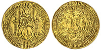 BNPS.co.uk (01202 558833)<br /> Pic: Spink/BNPS<br /> <br /> PICTURED: A Henry VII, Sovereign coin  1504-1509 with an estimate of  £30,000, sold for £130,000.<br /> <br /> The family of a late steeplejack are celebrating today after his incredible collection of rare coins sold for a whopping £2.8m.<br /> <br /> The 52 coins from the Tudor and Stuart periods were amassed by prolific collector Horace Hird over 50 years.<br /> <br /> He died in 1973 and it had been presumed he had sold all his coins while he was still alive. But a descendant found dozens of them still wrapped with their paperwork dating back to the 1960s.