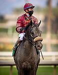 January 03, 2021: Roman Centurian with Juan Hernandez aboard breaks his maiden at Santa Anita Park in Arcadia, California on January 3, 2021. Evers/Eclipse Sportswire/CSM