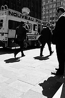 Street photo in Montreal. april 2016<br /> <br /> Photo : <br /> Pierre Roussel - Agence Quebec Presse