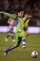 Seattle Sounders forward Fredy Montero. Chivas USA defeated the Seattle Sounders 2-0 at Home Depot Center stadium in Carson, California on Saturday April 18, 2009.  .