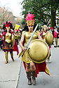 Diane Honorre of Krewe of Amazons, cancer survivors, Inaugural Lundi Gras Parade, Downtown, 2018