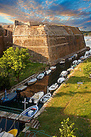 Moat of The old citadel [ ?????? ??????? ] Corfu City, Greek Ionian Islands