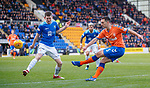 23.12.2018 St Johnstone v Rangers: Lee Wallace and Blair Alston