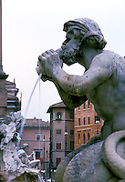 Fountain in Piazza Navonna, Rome<br />