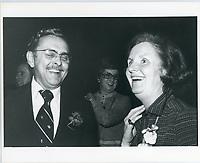 La femme de Jean Drapeau<br /> vers 1979<br /> <br /> PHOTO : Agence Quebec presse