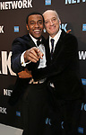 "Joshua Boone and Frank Wood attends the Broadway Opening Night After Party  for ""Network"" at Jack's Studios on December 6, 2018 in New York City."