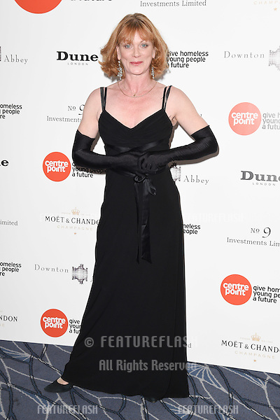 Samantha Bond arrives for The Downton Abbey Ball 2015 in aid of Centrepoint charity at the Savoy Hotel, London. 30/04/2015 Picture by: Steve Vas / Featureflash