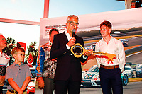 Dr Daniel Armbruster, gives #79 Kelly-Moss Road and Race, Porsche 991 / 2019, GT3P: Roman DeAngelis, the keys to his 911, GT3 Banquet, GT3 Banquet
