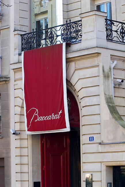 Exterior, Cristal Baccarat Restaurant, Paris, France, Europe