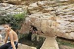 Israel, Mount Carmel, Ein Meshotetim in Wadi Siach