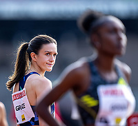 4th July 2021; Stockholm Olympic Stadium, Stockholm, Sweden; Diamond League Grand Prix Athletics, Bauhaus Gala; Kate Grace before the women's 800m race
