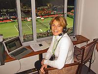 02-02-14,Czech Republic, Ostrava, Cez Arena, Davis Cup Czech Republic vs Netherlands, Marcella Merker (NED)   <br /> Photo: Henk Koster