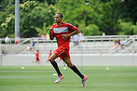 Ricardo Clark during the U. S. men's national team practice at Princeton University in Princeton, NJ, on May 22, 2010.