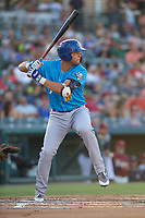 Amarillo Sod Poodles Hudson Potts (10) bats during a Texas League game against the Frisco RoughRiders on July 12, 2019 at Dr Pepper Ballpark in Frisco, Texas.  (Mike Augustin/Four Seam Images)