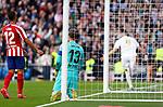 Atletico de Madrid's Jan Oblak reacts during La Liga match. Feb 01, 2020. (ALTERPHOTOS/Manu R.B.)