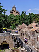 Metheki-Kirche und Bäderviertel Abanotubani, Tiflis – Tbilissi, Georgien, Europa<br /> Metheki church and  thermal quarter Abanotuban, Tbilisi, Georgia, Europe
