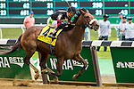 ELMONT, NY - JUNE 11: Shaman Ghost, ridden by Joel Rosario, wins the Brooklyn Invitational Stakes on Belmont Stakes Day on June 11, 2016 in Elmont, New York. (Photo by Sue Kawczynski/Eclipse Sportswire/Getty Images)
