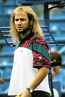 Andre Agassi 1992 Photo By Adam Scull/PHOTOlink