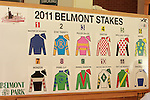 Post Position Draw and press conference for the 143rd Belmont Stakes-
