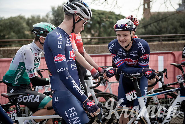 Petr Vakoč (CZE/Alpecin-Fenix) pre-race<br /> <br /> 15th Strade Bianche 2021<br /> ME (1.UWT)<br /> 1 day race from Siena to Siena (ITA/184km)<br /> <br /> ©kramon