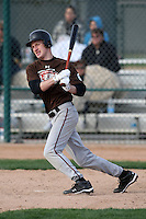 January 17, 2010:  Simon Weber (Floyds Knobs, IN) of the Baseball Factory Mountain Team during the 2010 Under Armour Pre-Season All-America Tournament at Kino Sports Complex in Tucson, AZ.  Photo By Mike Janes/Four Seam Images