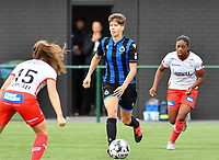 Brugge's Isabelle Iliano pictured during a female soccer game between Club Brugge Dames YLA and Zulte Waregem Ladies on the third matchday of the 2020 - 2021 season of Belgian Scooore Womens Super League , saturday 3 October 2020  in Brugge , Belgium . PHOTO SPORTPIX.BE | SPP | DAVID CATRY