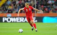 Rachel Unitt of team England during the FIFA Women's World Cup at the FIFA Stadium in Dresden, Germany on July 1st, 2011.